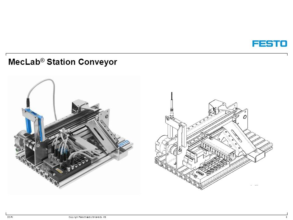 MecLab® Station Conveyor