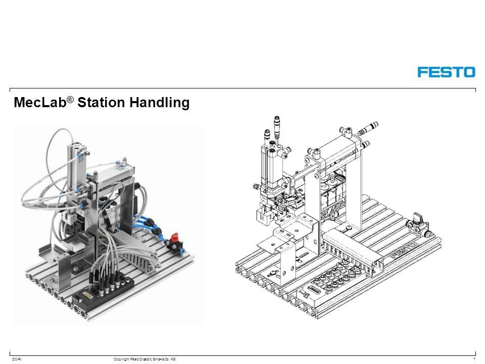 MecLab® Station Handling