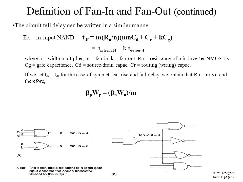Definition of Fan-In and Fan-Out (continued)