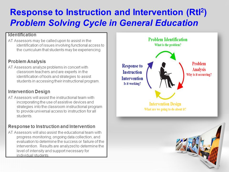 Response to Instruction and Intervention (RtI2) Problem Solving Cycle in General Education