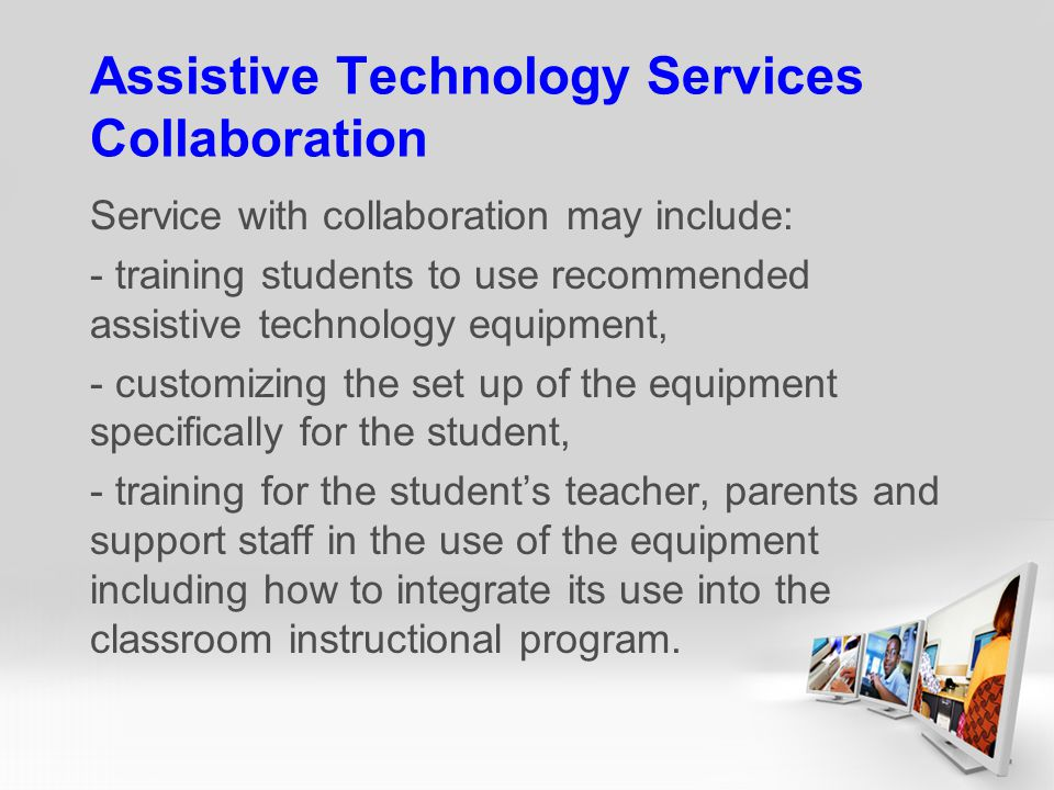 Assistive Technology Services Collaboration