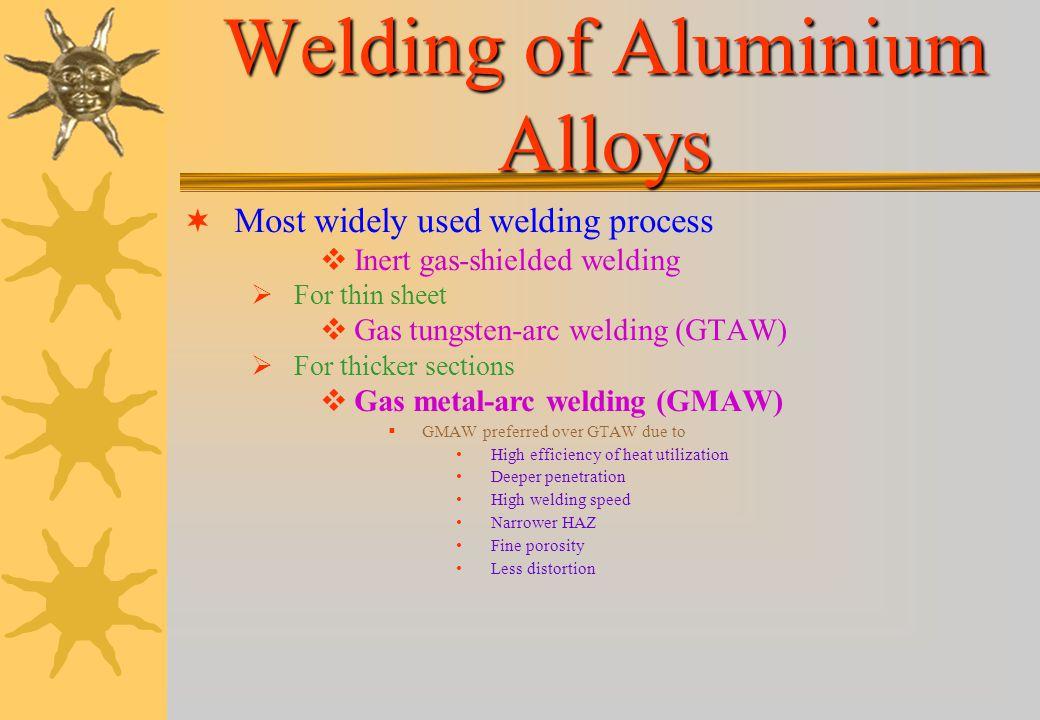 Welding of Aluminium Alloys