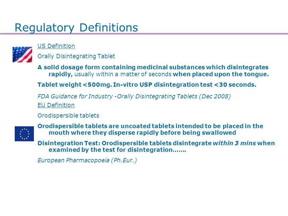 ODT Why use ODT Clinical Formulation Marketing Pregastric delivery