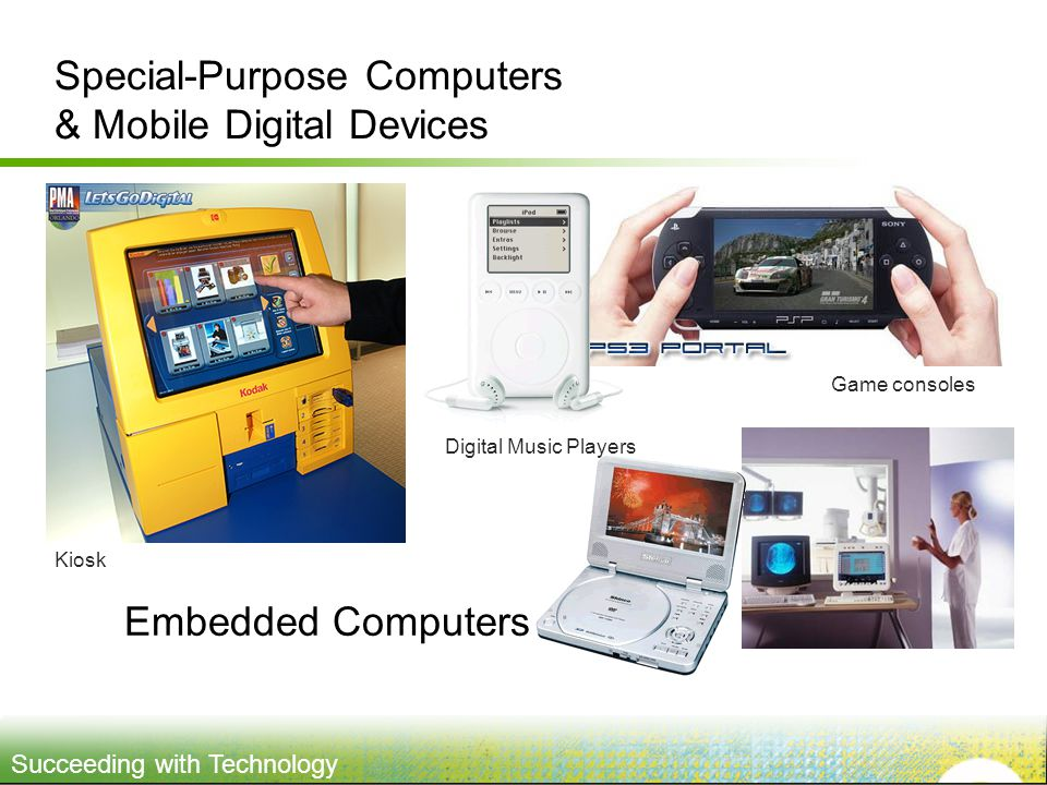 Special-Purpose Computers & Mobile Digital Devices