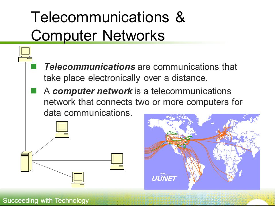 Telecommunications & Computer Networks