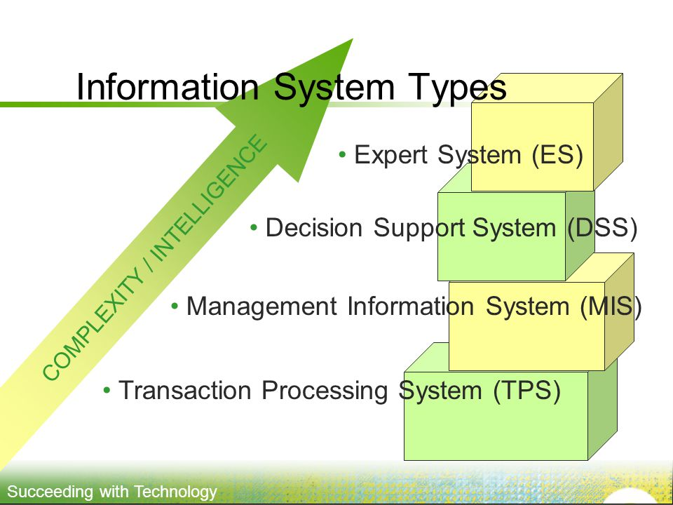 Information System Types