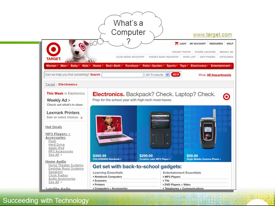 What's a Computer www.target.com
