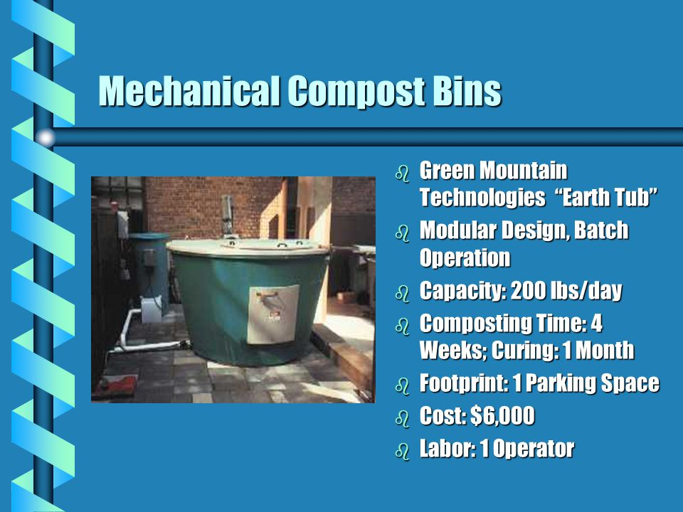 Mechanical Compost Bins
