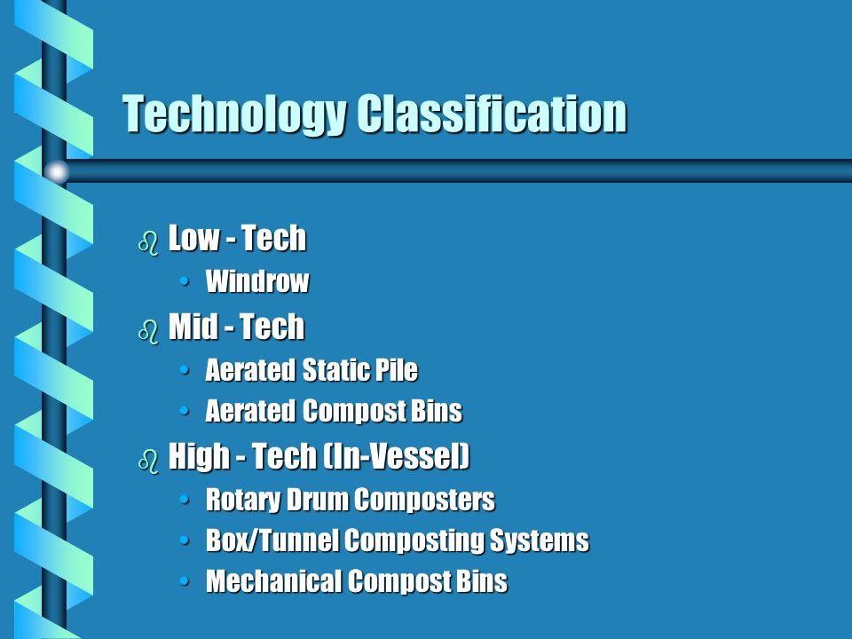 Technology Classification