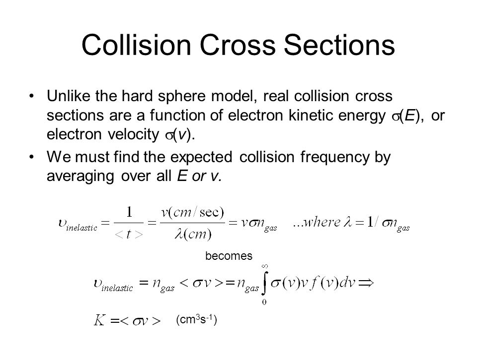 Collision Cross Sections