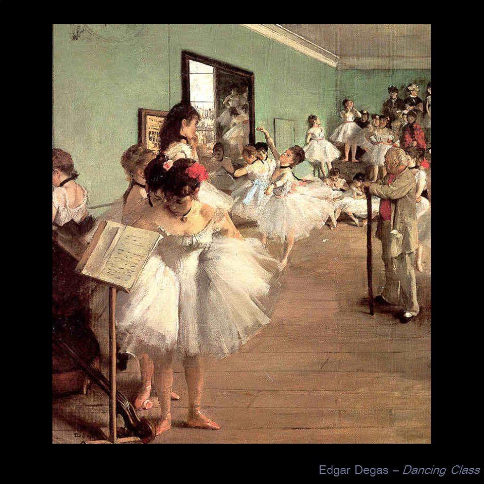 Edgar Degas – Dancing Class