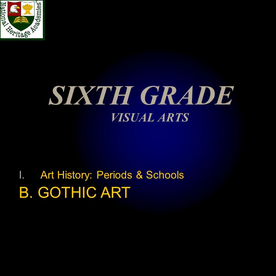 SIXTH GRADE VISUAL ARTS
