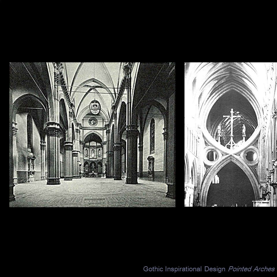 Gothic Inspirational Design Pointed Arches