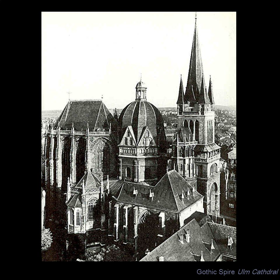 Gothic Spire Ulm Cathdral
