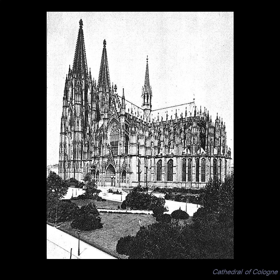 Cathedral of Cologne UNIT: GOTHIC ART ARTIST: Paul Cezanne