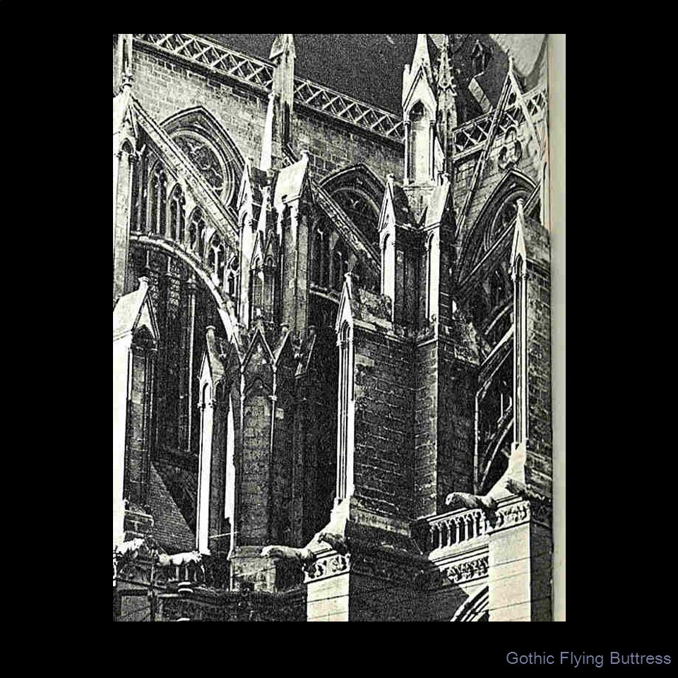 Gothic Flying Buttress