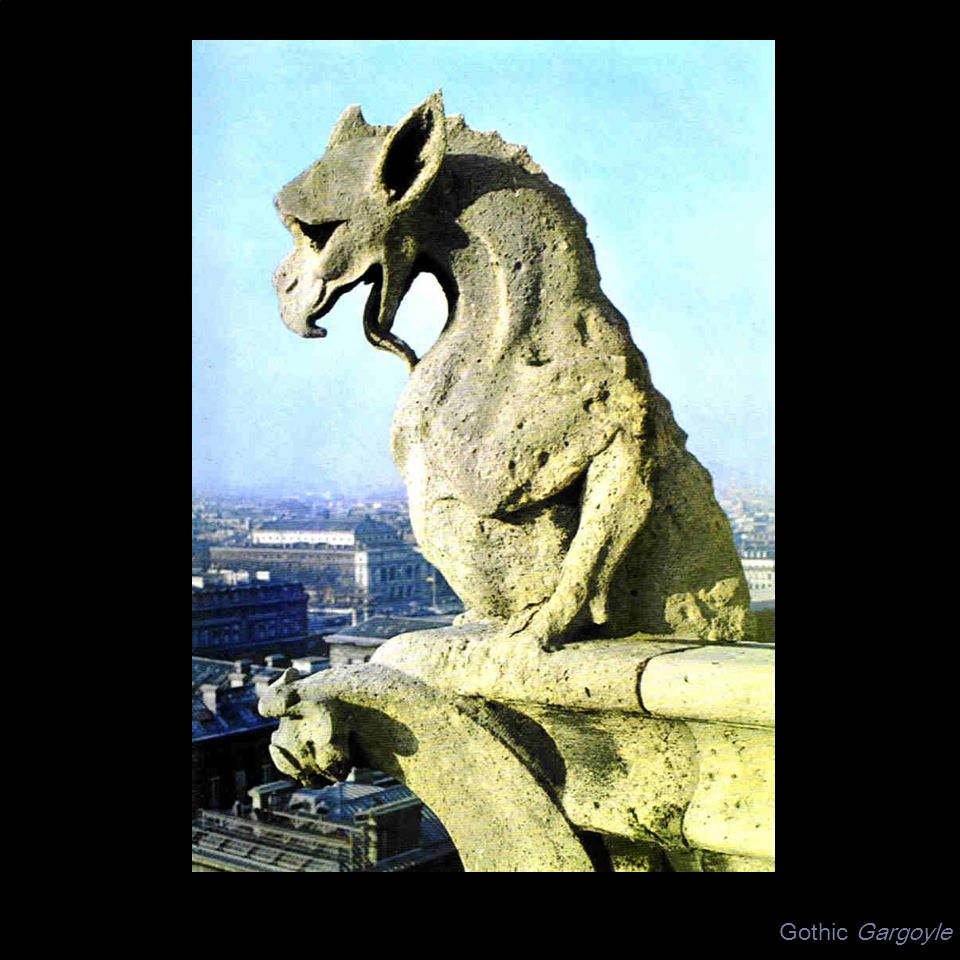 Gothic Gargoyle UNIT: ART OF THE MIDDLE AGES IN EUROPE ARTIST: Gothic