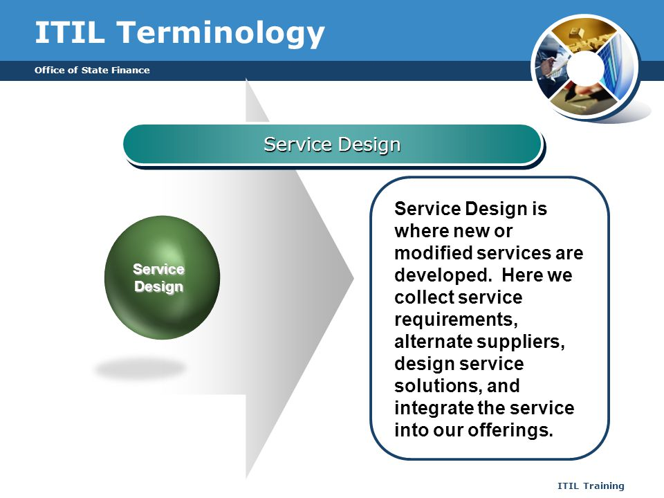 ITIL Terminology Service Design