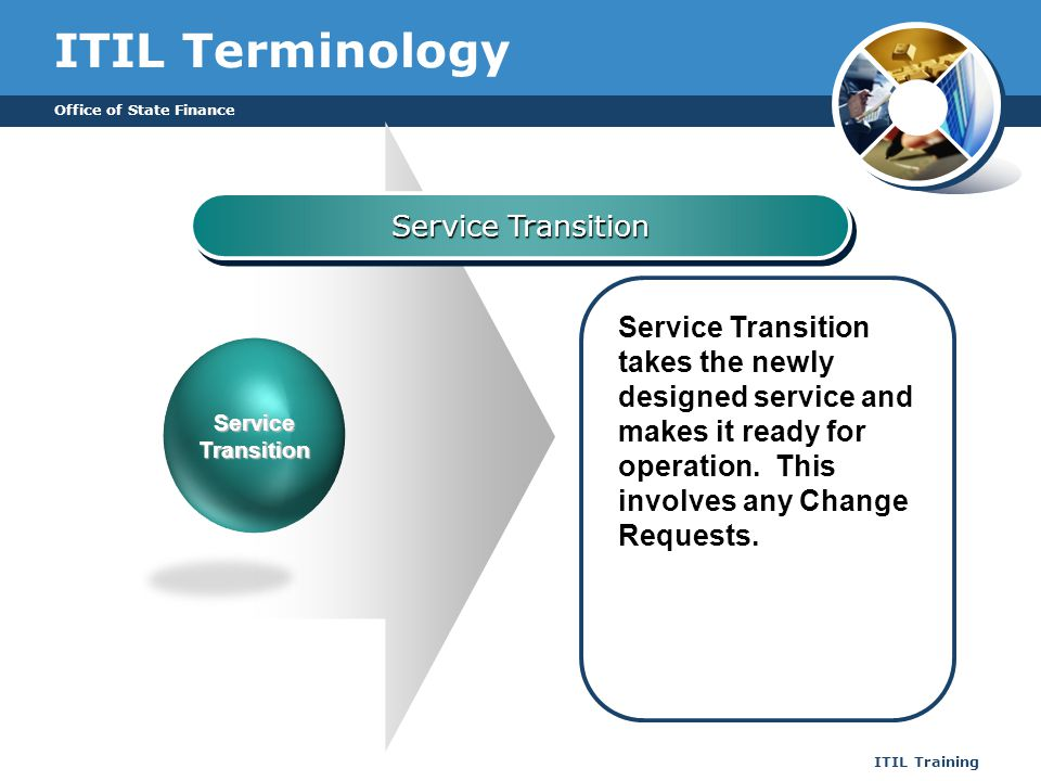ITIL Terminology Service Transition