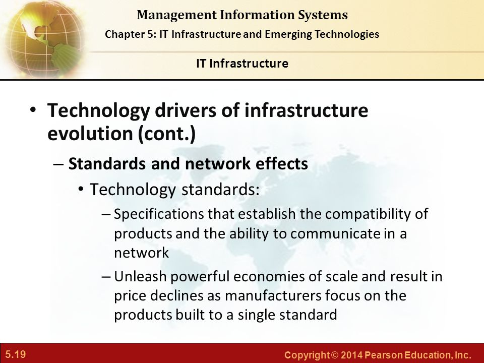 Technology drivers of infrastructure evolution (cont.)