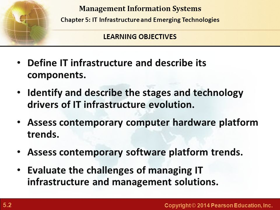 Define IT infrastructure and describe its components.