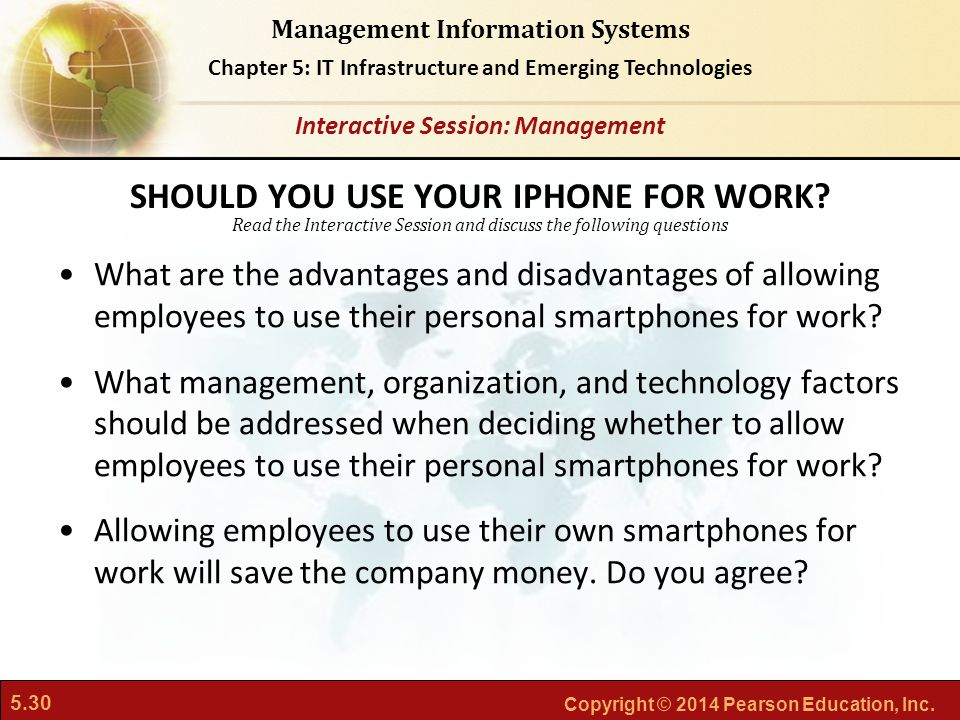 SHOULD YOU USE YOUR IPHONE FOR WORK