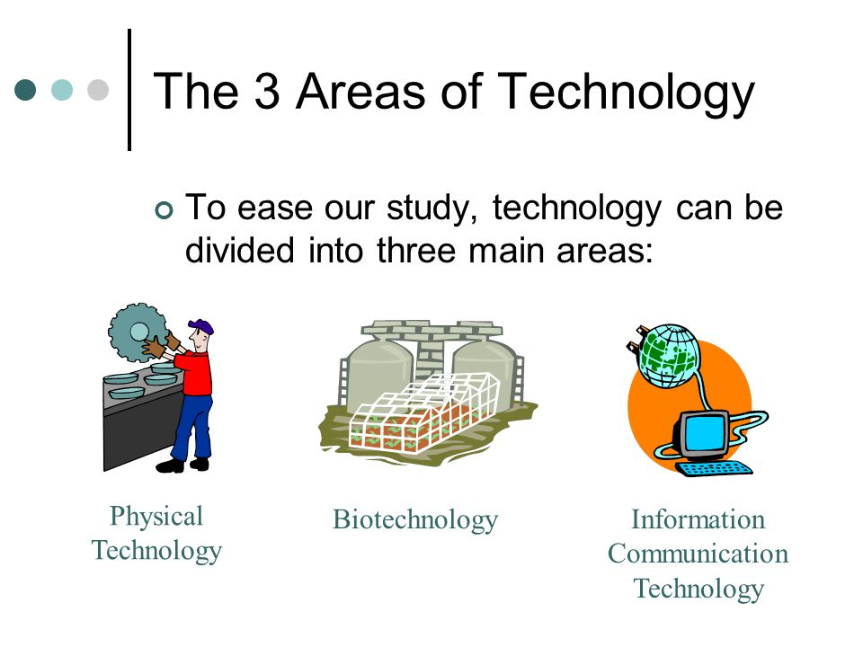 The 3 Areas of Technology