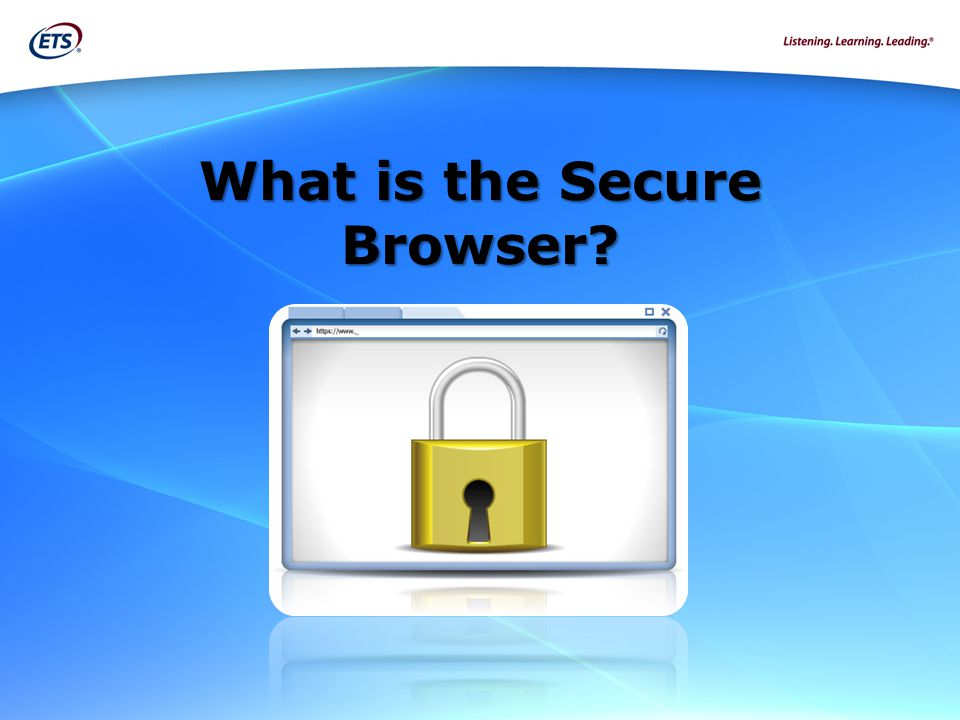 What is the Secure Browser