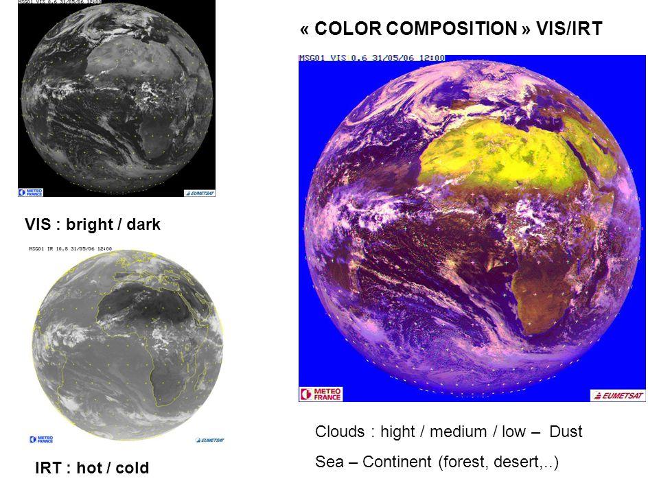 « COLOR COMPOSITION » VIS/IRT