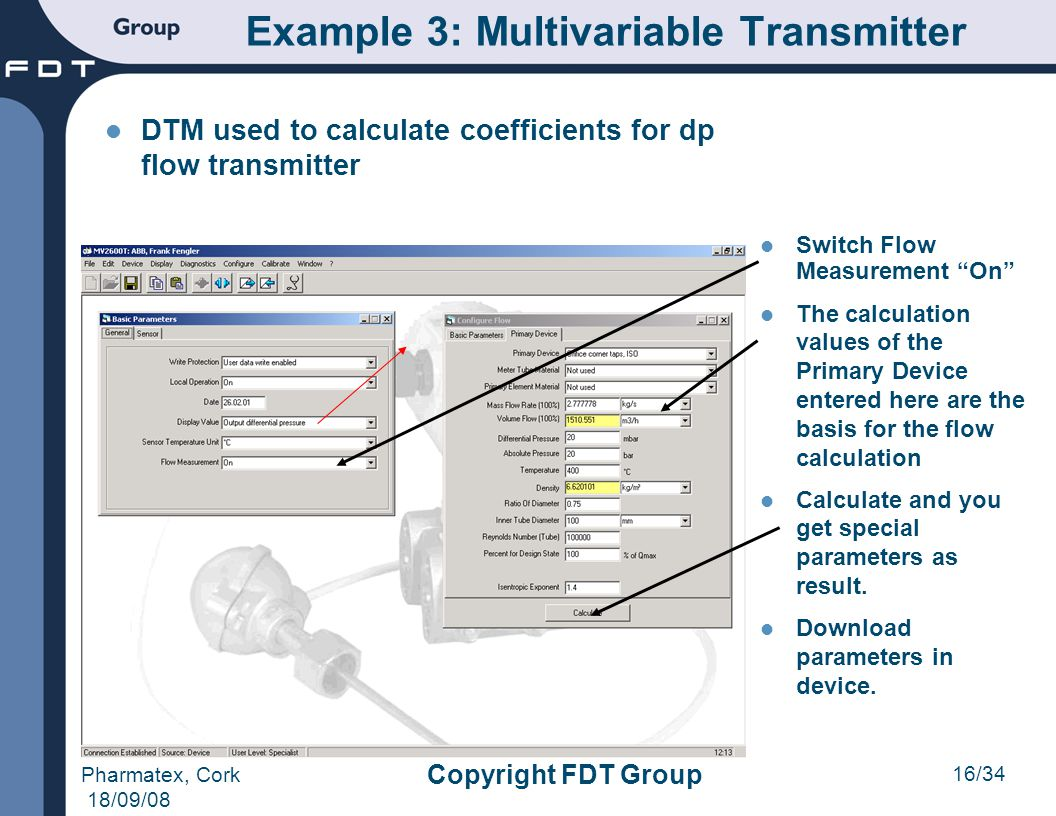 Example 3: Multivariable Transmitter