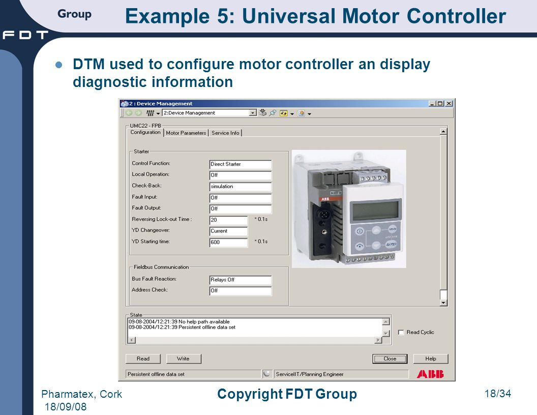 Example 5: Universal Motor Controller