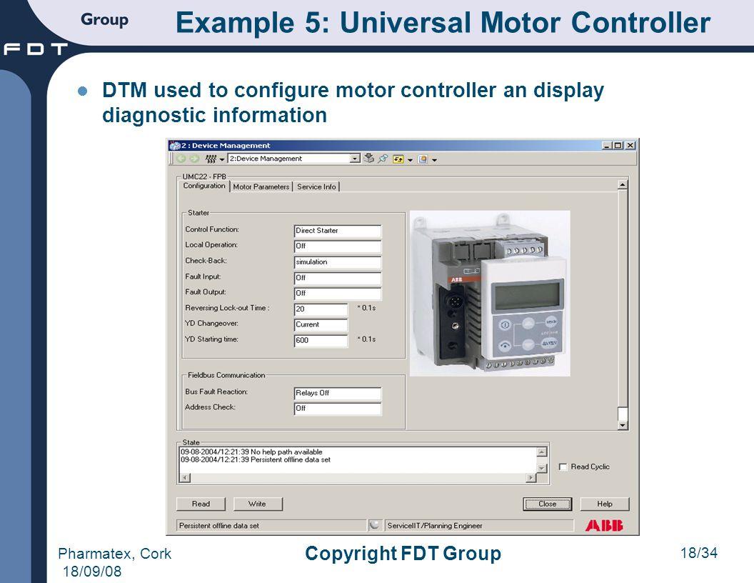 Example 5: Universal Motor Controller