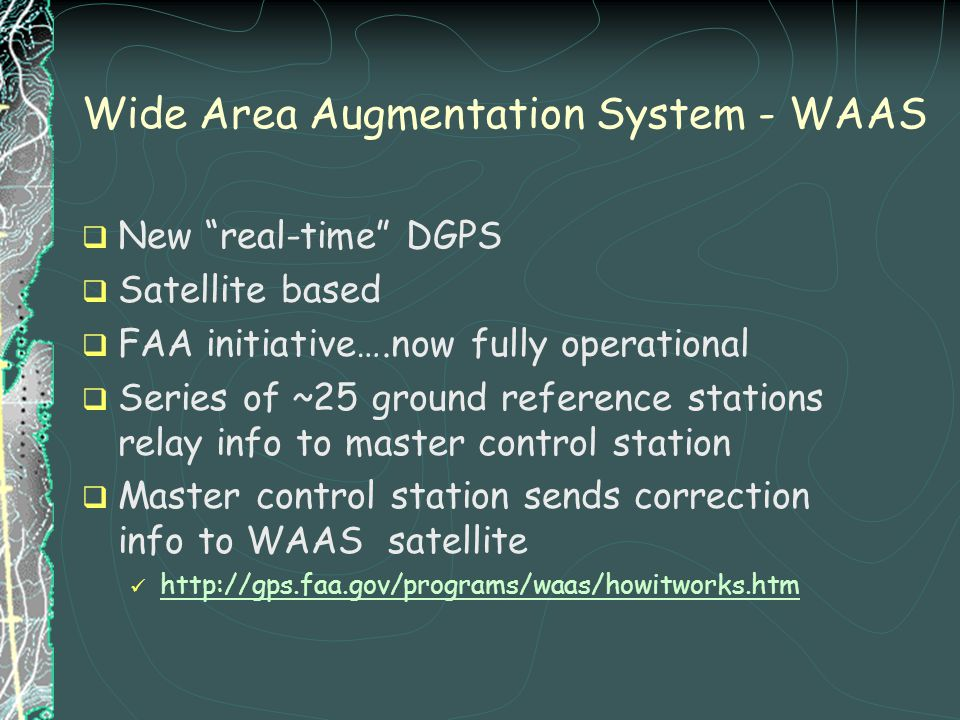 Wide Area Augmentation System - WAAS