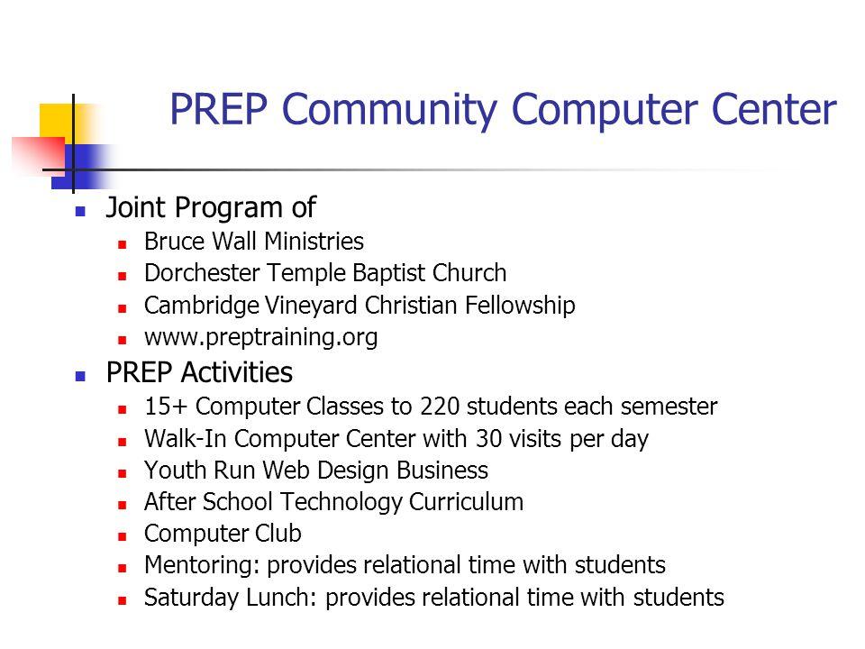 PREP Community Computer Center