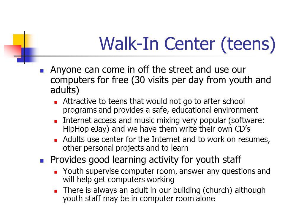 Walk-In Center (teens)