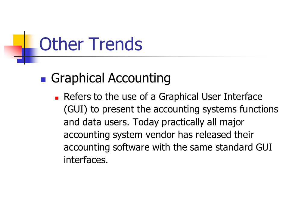 Other Trends Graphical Accounting
