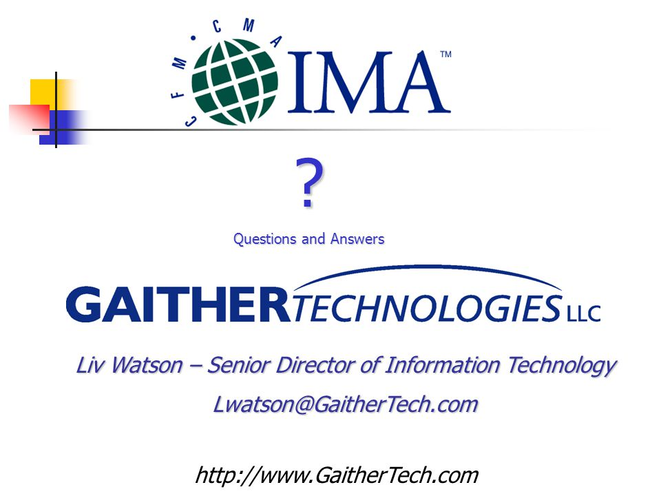 Liv Watson – Senior Director of Information Technology