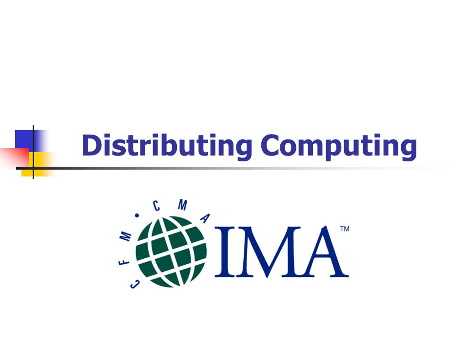 Distributing Computing