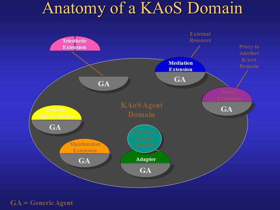 Anatomy of a KAoS Domain