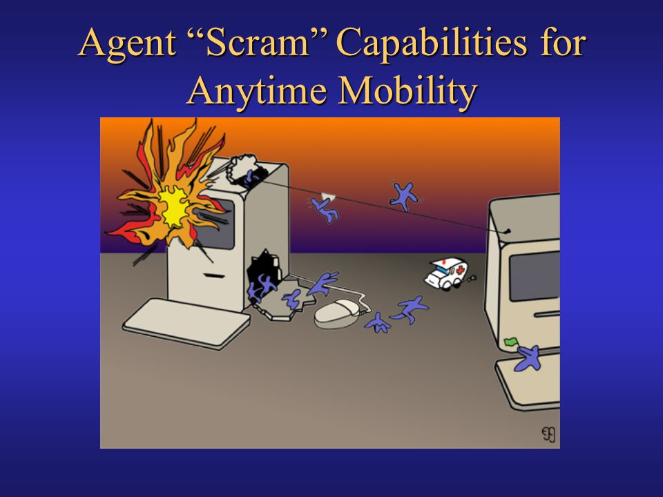 Agent Scram Capabilities for Anytime Mobility