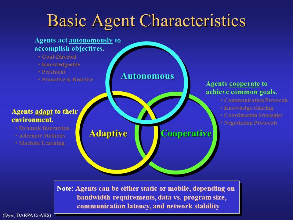 Basic Agent Characteristics