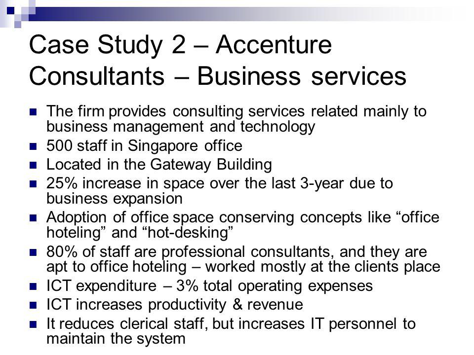 Case Study 2 – Accenture Consultants – Business services