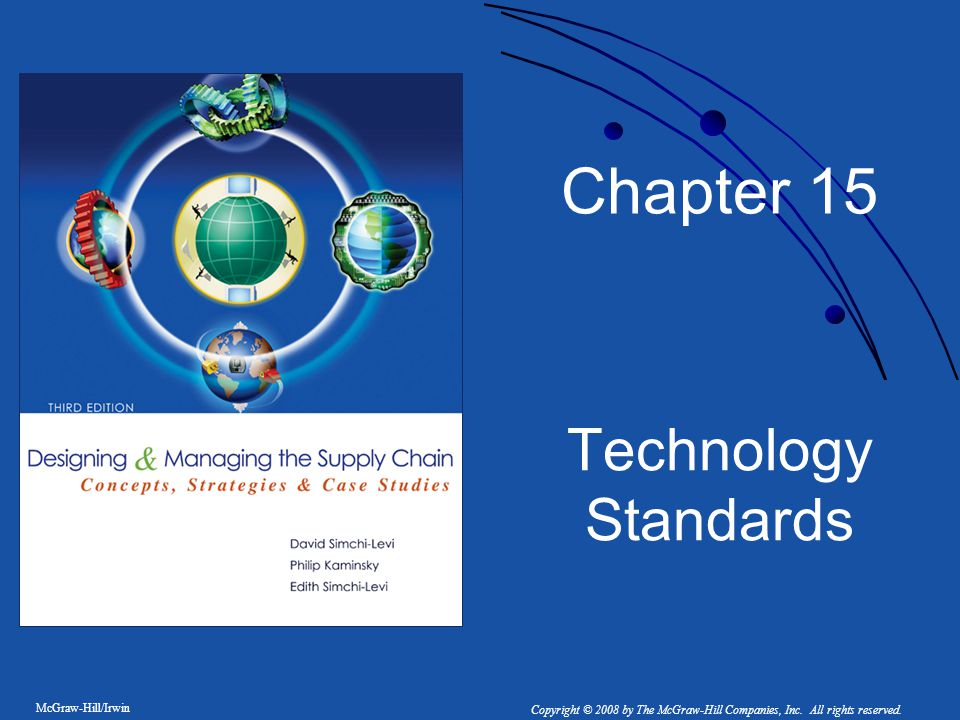 Chapter 15 Technology Standards