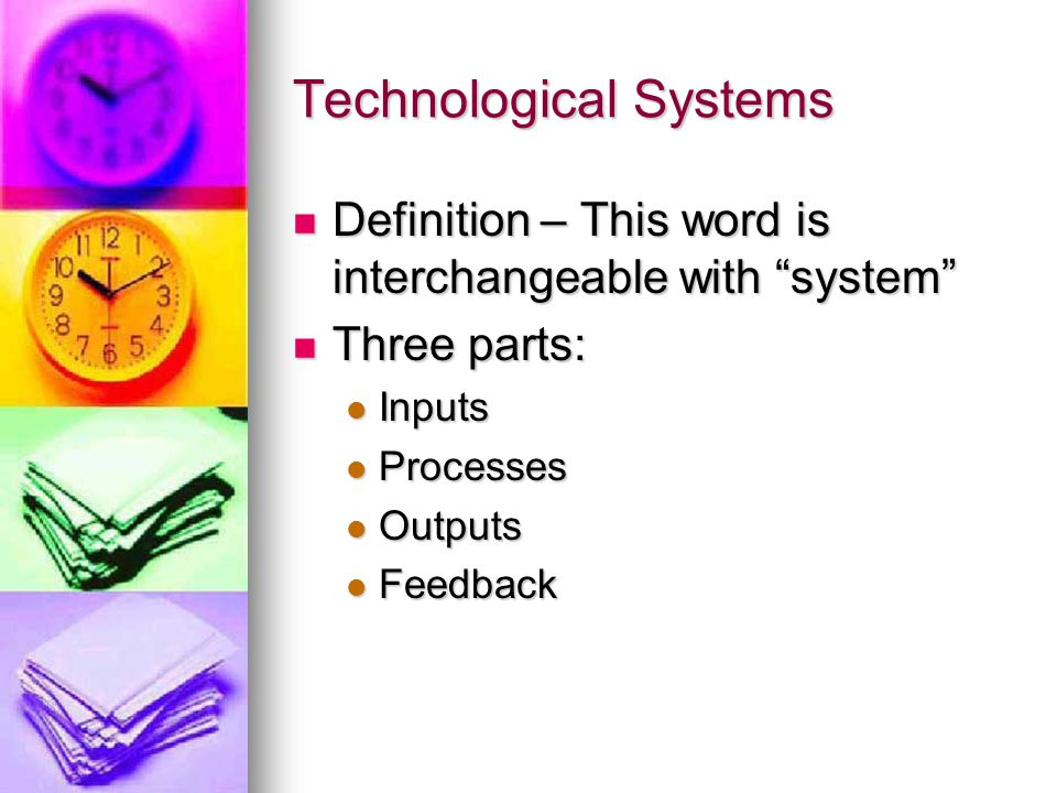 Technological Systems