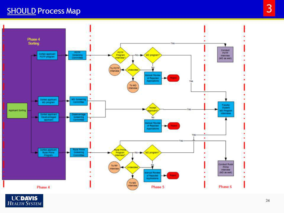 3 SHOULD Process Map