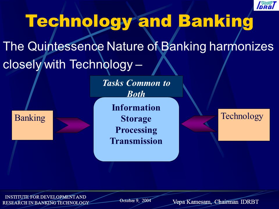 Technology and Banking