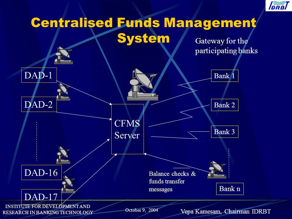 Centralised Funds Management System