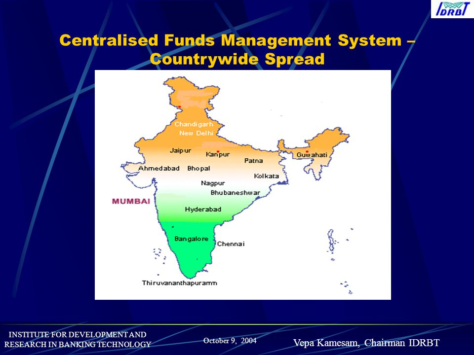Centralised Funds Management System – Countrywide Spread