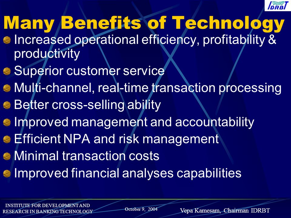Many Benefits of Technology