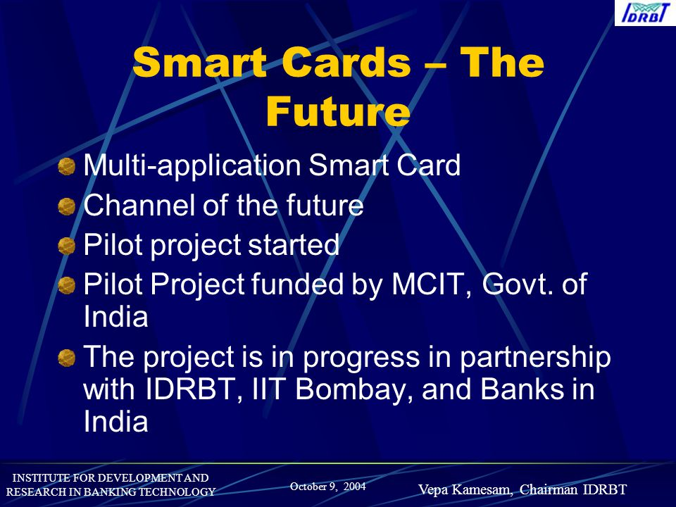 Smart Cards – The Future
